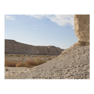 Israel, mar muerto, paisaje del desierto postal