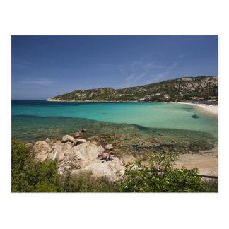 Italia, Cerdeña, Baja Cerdeña. Playa del centro Postal
