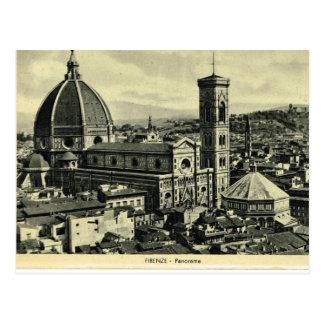 Italia, Florencia, Firenze, 1908, Firenze, Duomo 1 Postal