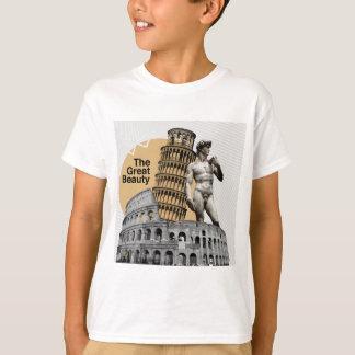 Italia, la gran belleza camiseta