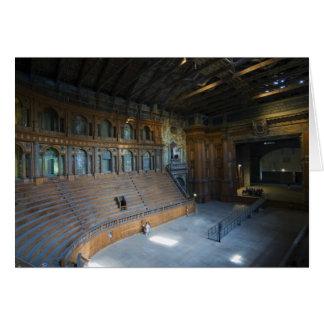 Italia, Parma, Teatro Farnese Tarjeta De Felicitación
