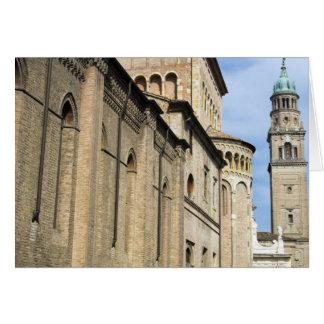 Italia, Parma, torre de la iglesia de San Giovanni Tarjeta