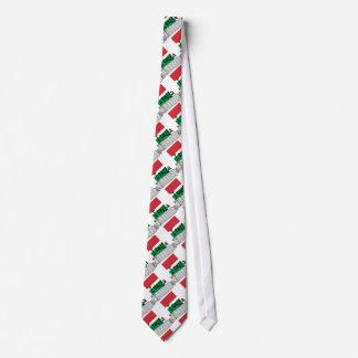 Italia patriótica corbata personalizada