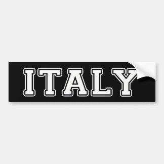 Italia Pegatina Para Coche