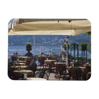 Italia, provincia de Como, Bellagio. Café de la or Imanes Rectangulares