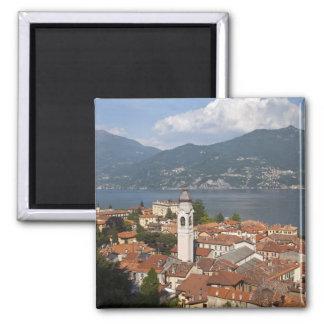 Italia, provincia de Como, Menaggio. Opinión de la Imán Cuadrado