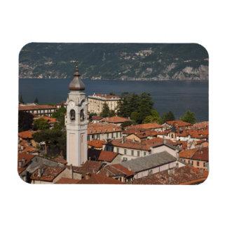 Italia, provincia de Como, Menaggio. Opinión y 2 d Imán Rectangular