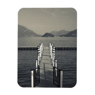 Italia, provincia de Como, Tremezzo. Embarcadero d Iman Rectangular