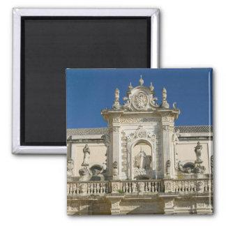 Italia, Puglia, Lecce, Piazza del Duomo, Palazzo Imán Cuadrado