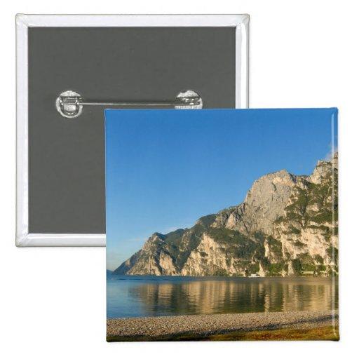 Italia, Riva del Garda, lago Garda, soporte Pin