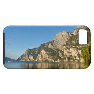Italia, Riva del Garda, lago Garda, soporte iPhone 5 Cobertura