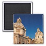Italia, Roma, iglesia de Santa María di Loreto y Iman Para Frigorífico