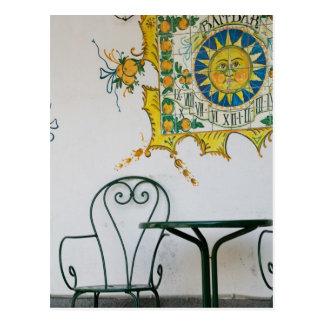 ITALIA, Sicilia, TAORMINA: Bam, detalle del café d Postal