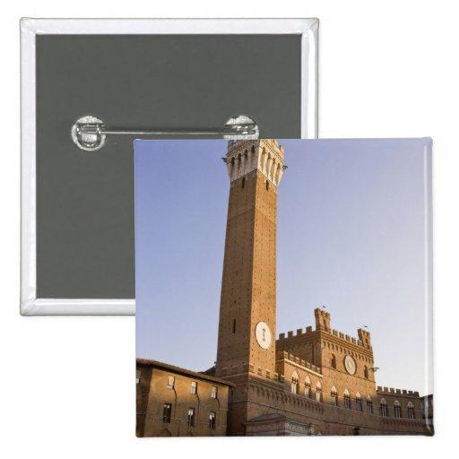 Italia, Toscana, tierra de Siena. Torre del Mangia Pin