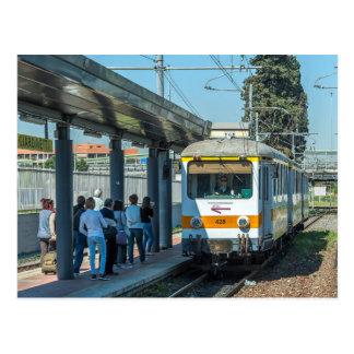 Italia: Tranvía en Giardinetti, Roma Postal