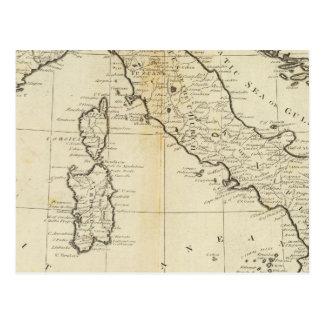 Italia y Cerdeña Postal