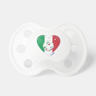 "Italy Soccer Team. Fútbol de ""ITALIA"" 2014 Chupete"