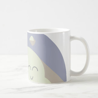 It's cloudy out there, love it! taza de café