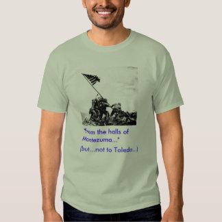"Iwo Jima, ""sí"".   Toledo, ""no "" Camisetas"