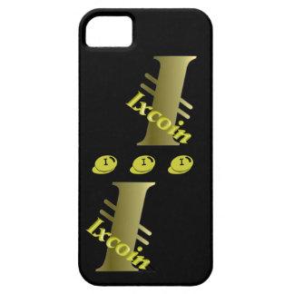 ixcoin de oro iPhone 5 fundas