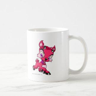 Ixi rojo taza de café