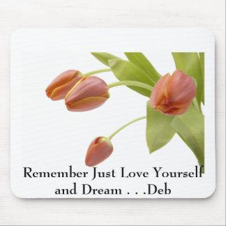 j0422449, recuerdan apenas el amor usted mismo y s alfombrilla de ratón