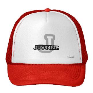J está para Justine Gorra