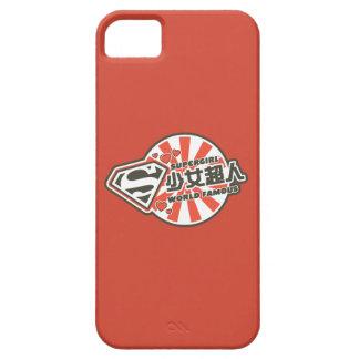 J-Estallido 13 de Supergirl iPhone 5 Protectores