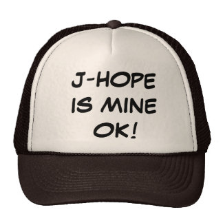 J-HOPE ES EL MÍO GORRA