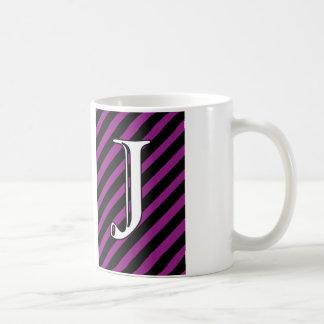 J inicial taza de café