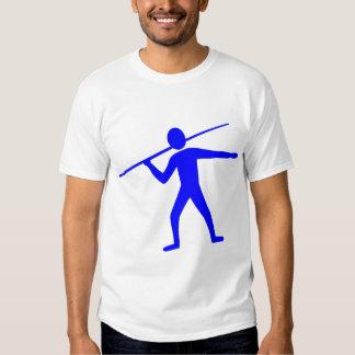 Jabalina Trower - azul Camiseta