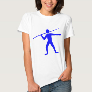 Jabalina Trower - azul Camisetas