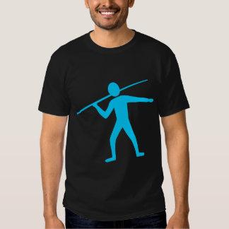 Jabalina Trower - azul de cielo Camisetas