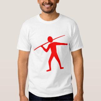 Jabalina Trower - rojo Camisetas