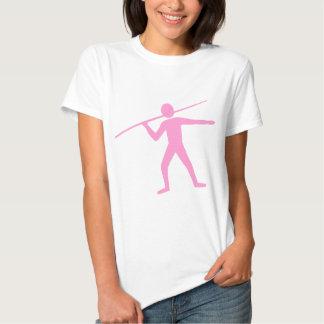 Jabalina Trower - rosa Camisetas