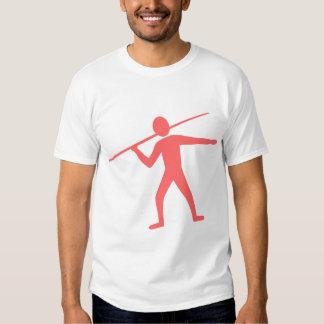 Jabalina Trower - rosa tropical Camisetas