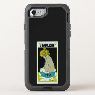 Jabón de la luz de las estrellas funda OtterBox defender para iPhone 7