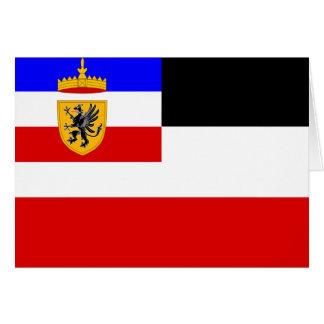 Jachtklub Rostock, Alemania Tarjeta De Felicitación