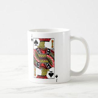 Jack de espadas - añada su imagen taza de café