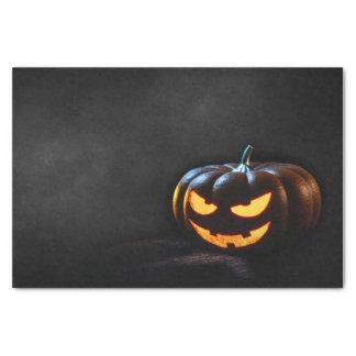 Jack-O-Linterna de la calabaza de Halloween Papel De Seda