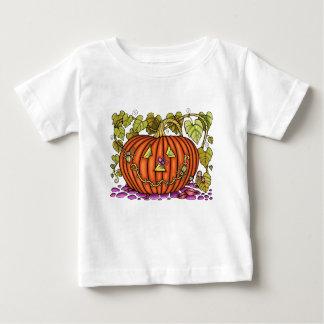 Jack parecido a una araña O'Lantern Camiseta De Bebé