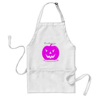 Jack rosado Halloween o'lantern Thunder_Cove Delantal