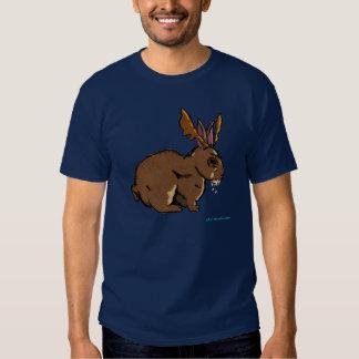 Jackalope rabioso camisas