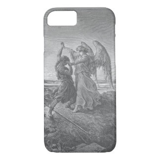 Jacob que lucha con el caso del iPhone del ángel Funda iPhone 7
