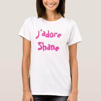 J'adore Shane Camiseta