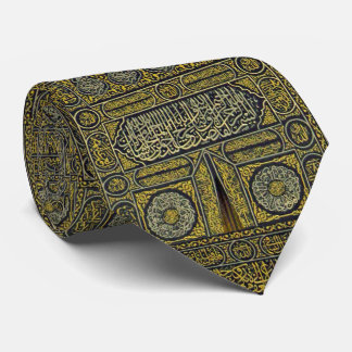 Jadye árabe musulmán islámico Kaaba de la Corbatas Personalizadas