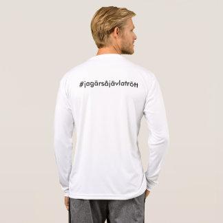 #jagärsåjävlatrött - impresión trasera camiseta