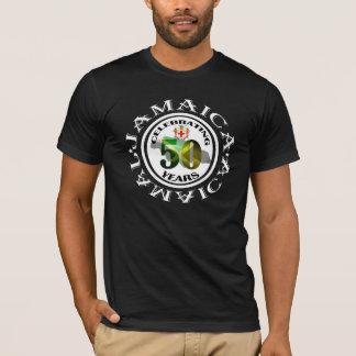 Jamaica 50 años de la independencia de camisa de