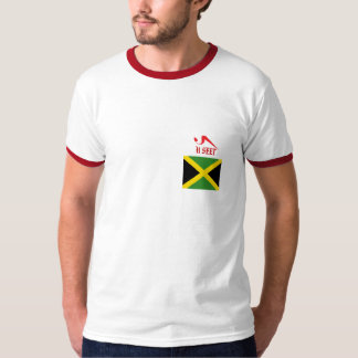 Jamaica al campanero del mundo camisas