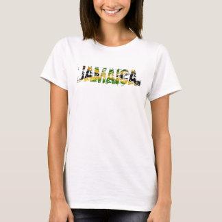 Jamaica apenó la tapa del tanque de la bandera camiseta